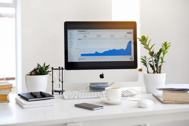 Välstädat kontor ger trivsam arbetsmiljö